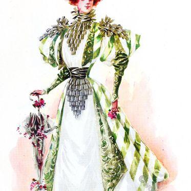 Félix, maison, fashion, costume, Princesse, Belle Époque, Fin de Siècle
