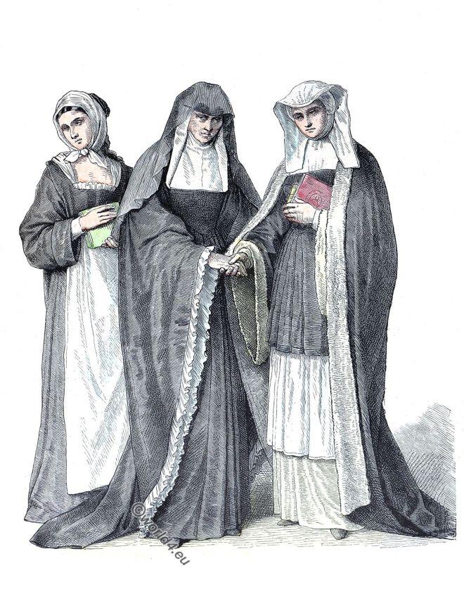 Benedictine Sisters, Nuns, Habit, costume, monastic, order