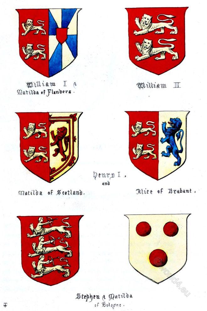 Normandy, Regal, armorial bearings, Heraldry, Royal House,