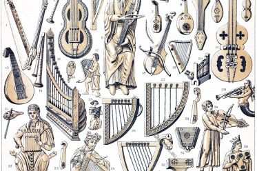 Medieval, Musical, instruments, Middle Ages, wind instruments, string instruments, stringed instruments,