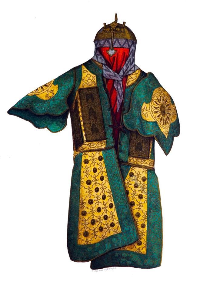 Char-aina, India, Armory,  Mirror armour, cuirass