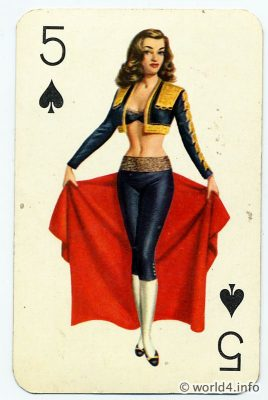 Pin Up Girls On Playing Cards Lost And Found