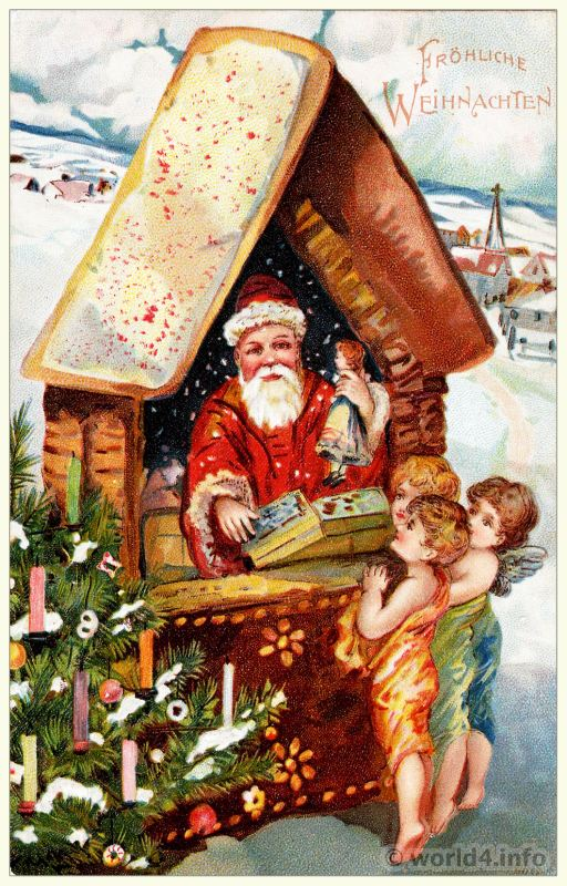 Variety Of Santa Claus Amp Christmas Postcards Lost And Found
