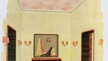 Corridor design in an old apartment by wilhelm dechert. lost and found