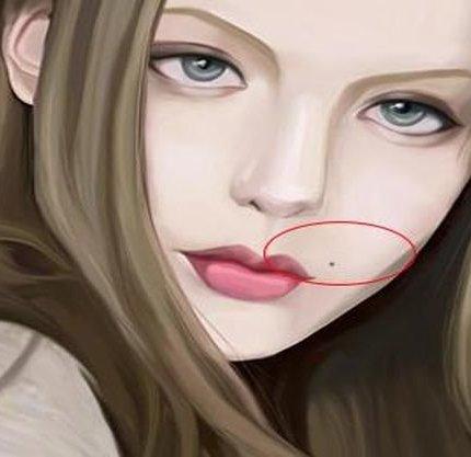 """女生臉上的""""美人痣"""",主要在哪些地方?顴骨眼尾很常見"""