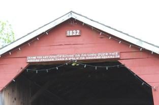 South Perkasie Message over Bridge