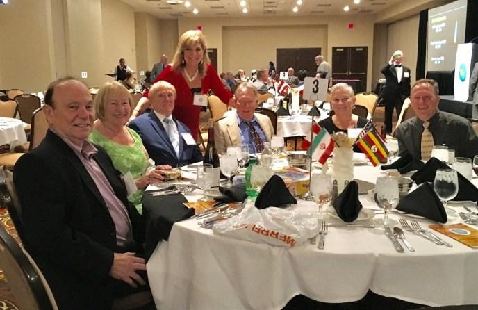 Congress banquet - tables b