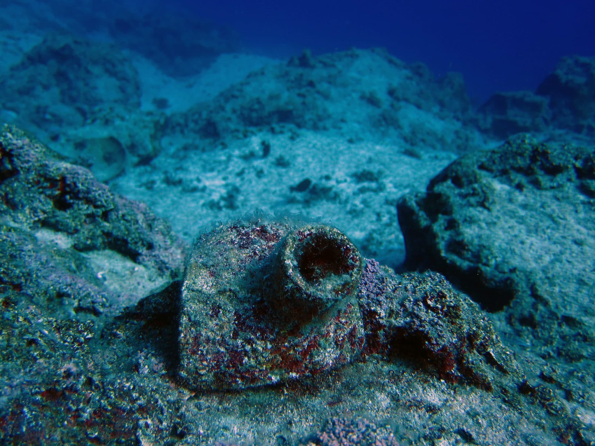 Kas diving - amphorae