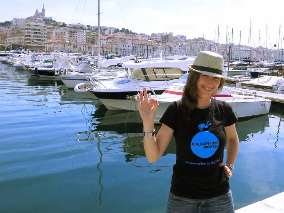 World Adventure Divers in Marseille Old Port