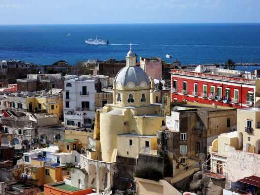 Procida Island Naples Bay Italy