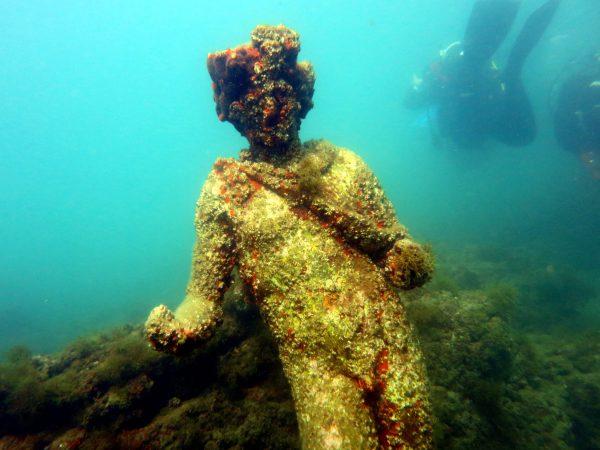 Plongée Parc Archéologique Baia Italie