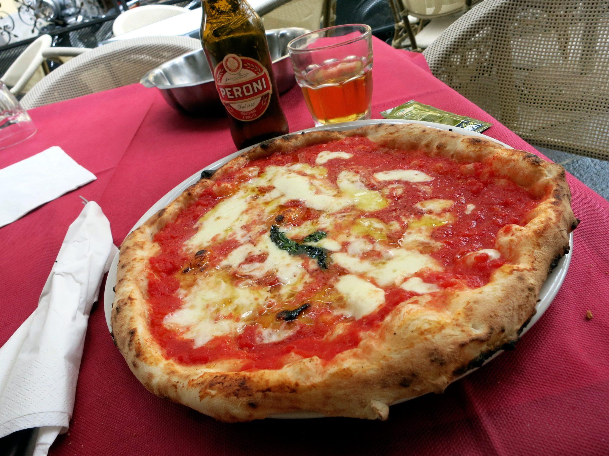 Pizza Naples Italie