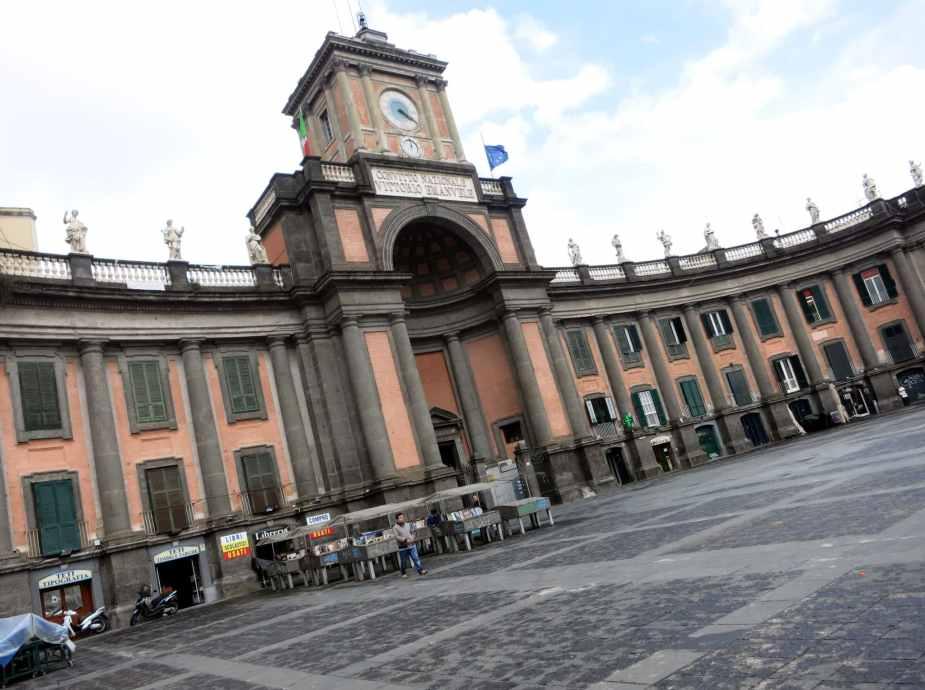 Naples city centre Italy