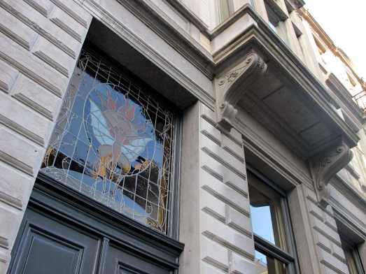 Art Nouveau architecture Brussels Belgium