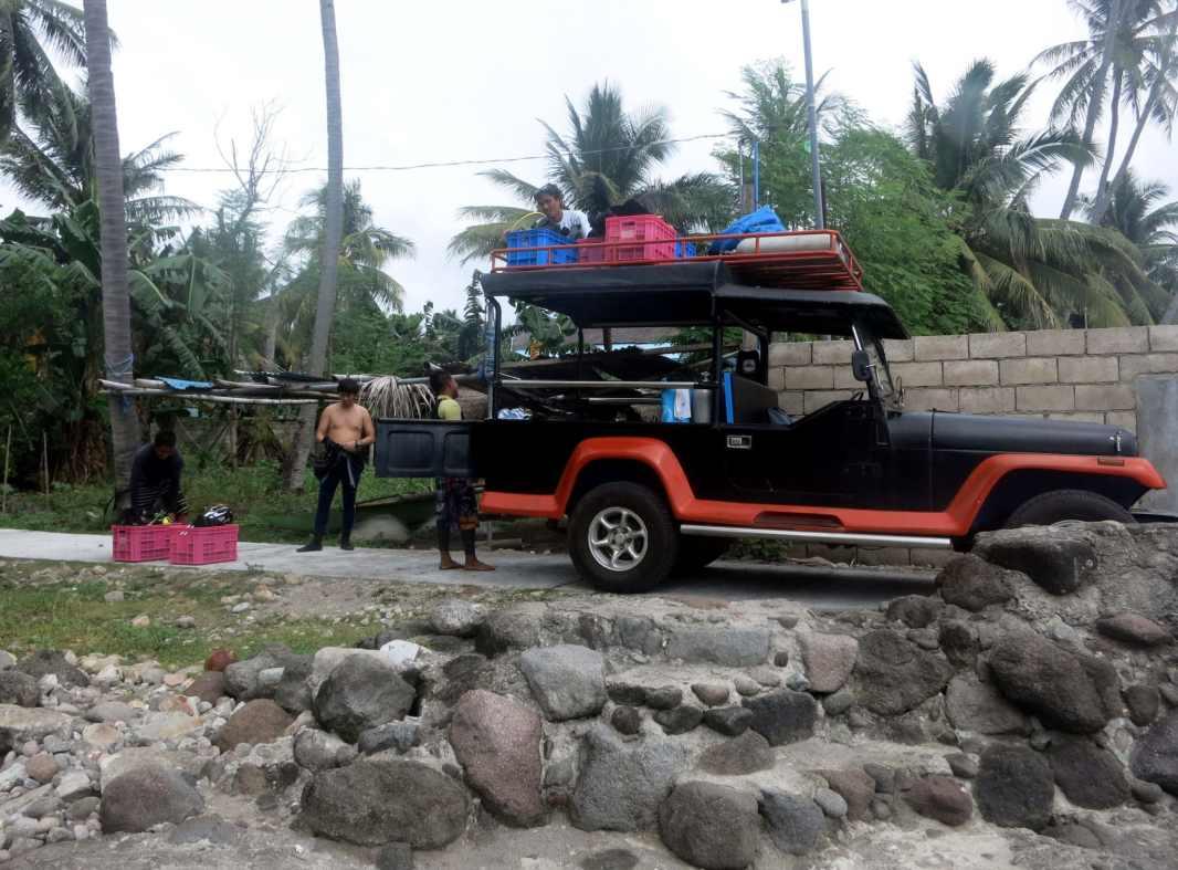 Shore diving Masaplod sanctuary Dauin Negros Philippines