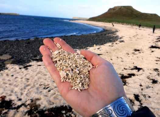 Coral beach Island Skye Scotland
