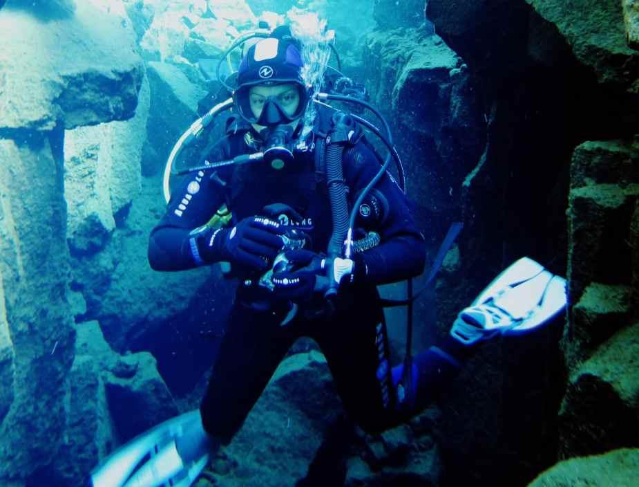 plongée islande