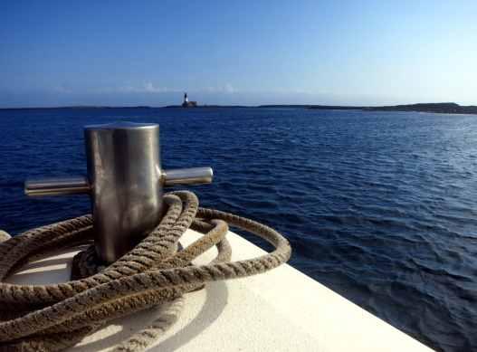 Boat scuba diving Farne Islands England UK