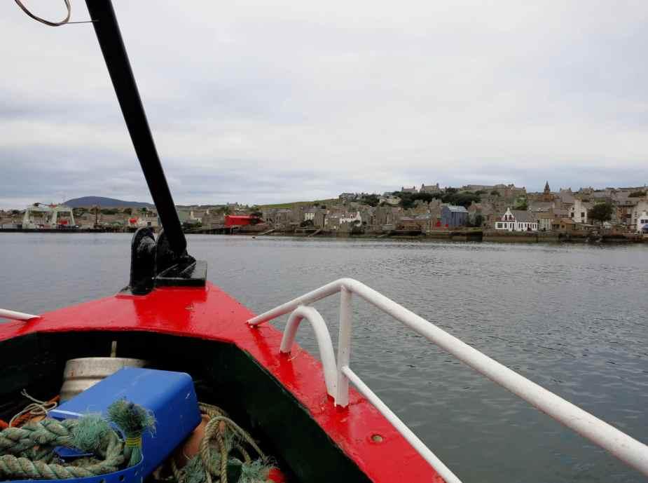 Scapa Scuba scuba diving boat Stromness Orkney Scotland