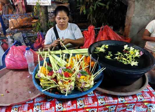 Gianyar night market Bali Indonesia