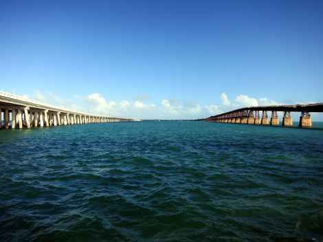 7-mile bridge Overseas Highway Florida Keys