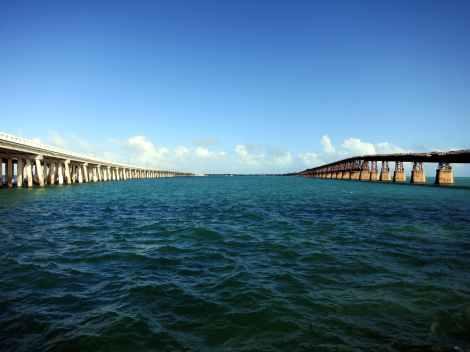 7-mile bridge Overseas Highway Florida Keys