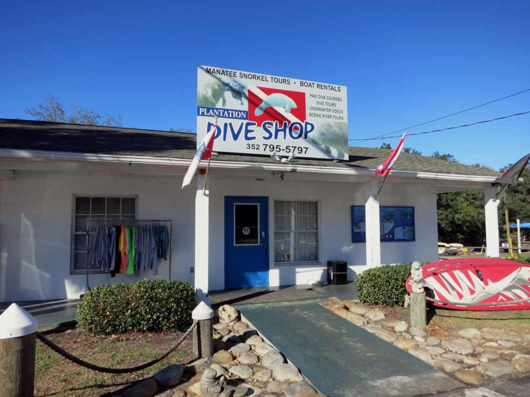 Plantation Dive Shop Crystal River Florida USA