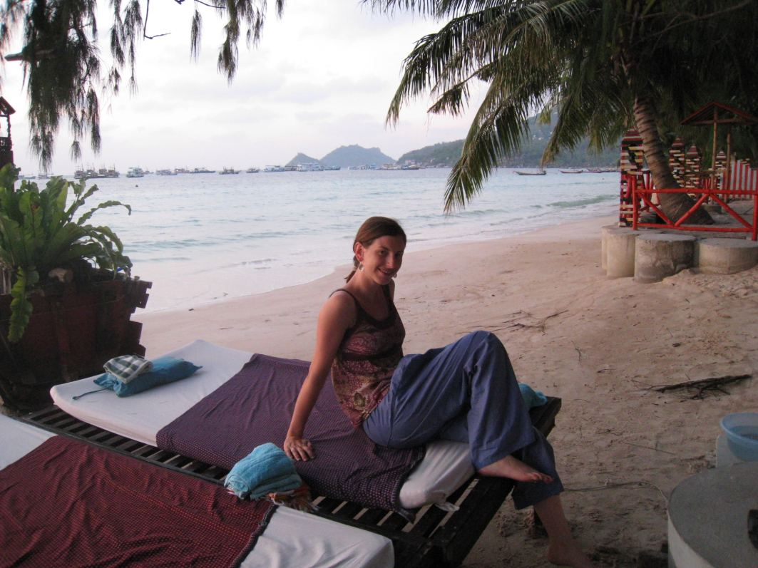 Thai Massage Sairee Beach Koh Tao Thailand