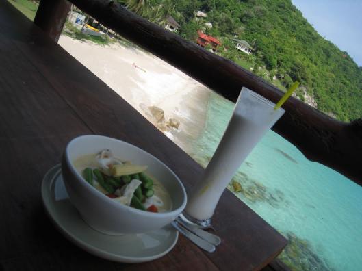 Thai curry Ao Leuk Koh Tao Thailand