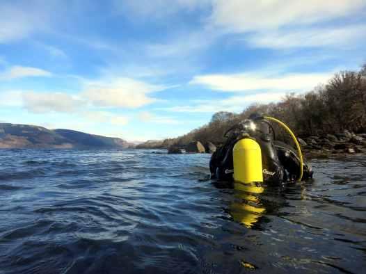 Scuba diving St Cats Loch Fyne Scotland