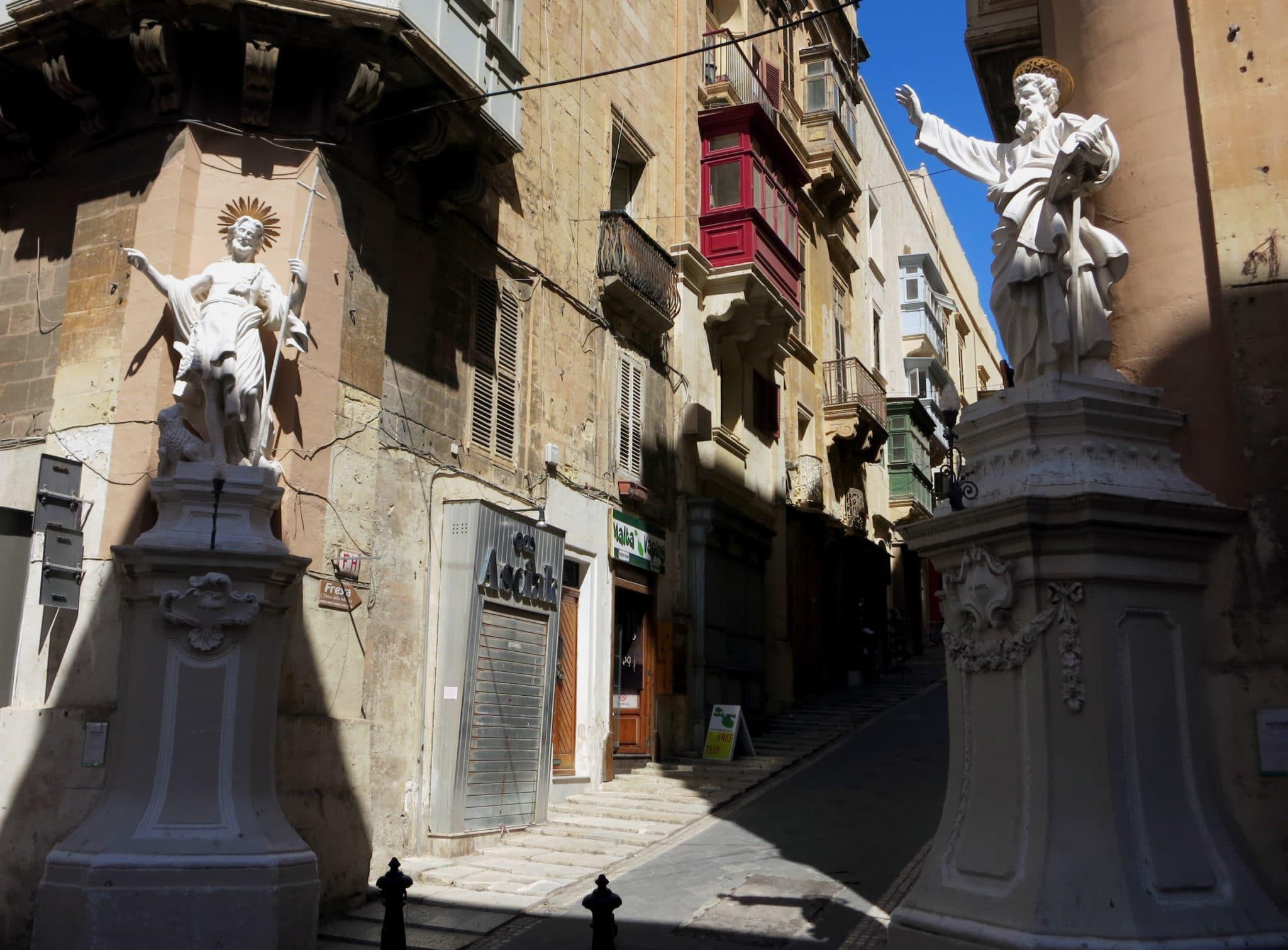St Paul Street Valletta Malta
