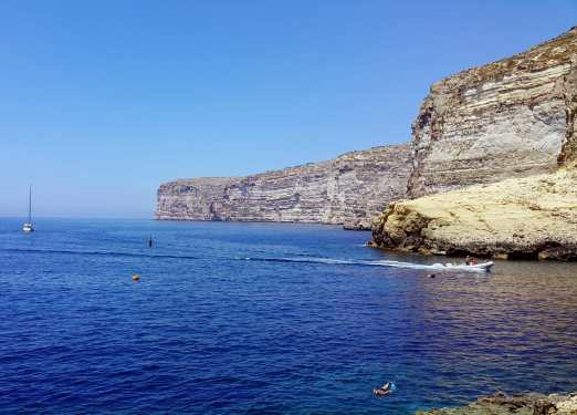 Cliffs Xlendi Gozo Malta