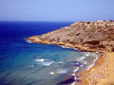 Ramla Bay Beach Gozo Malta