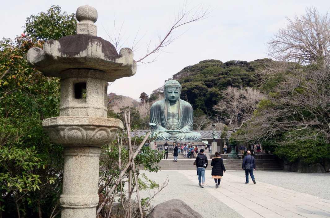 Great Buddha Daibutsu Kamakura Japan