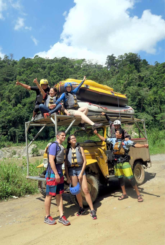 Rafting Pico Bonito National Park Honduras