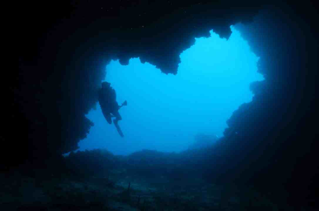 Scuba diving Vis Island Croatia