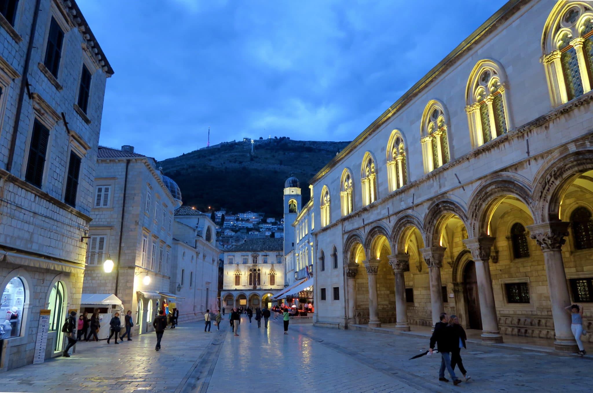 Dubrovnik by night Croatia