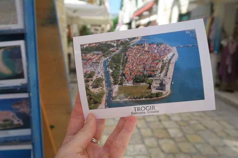 Trogir is actually an island