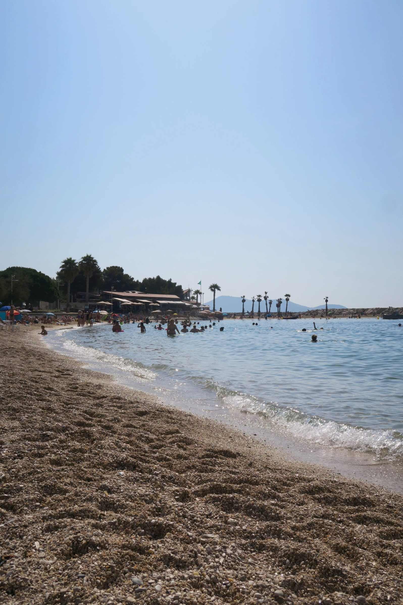 Mourillon Beaches Toulon France