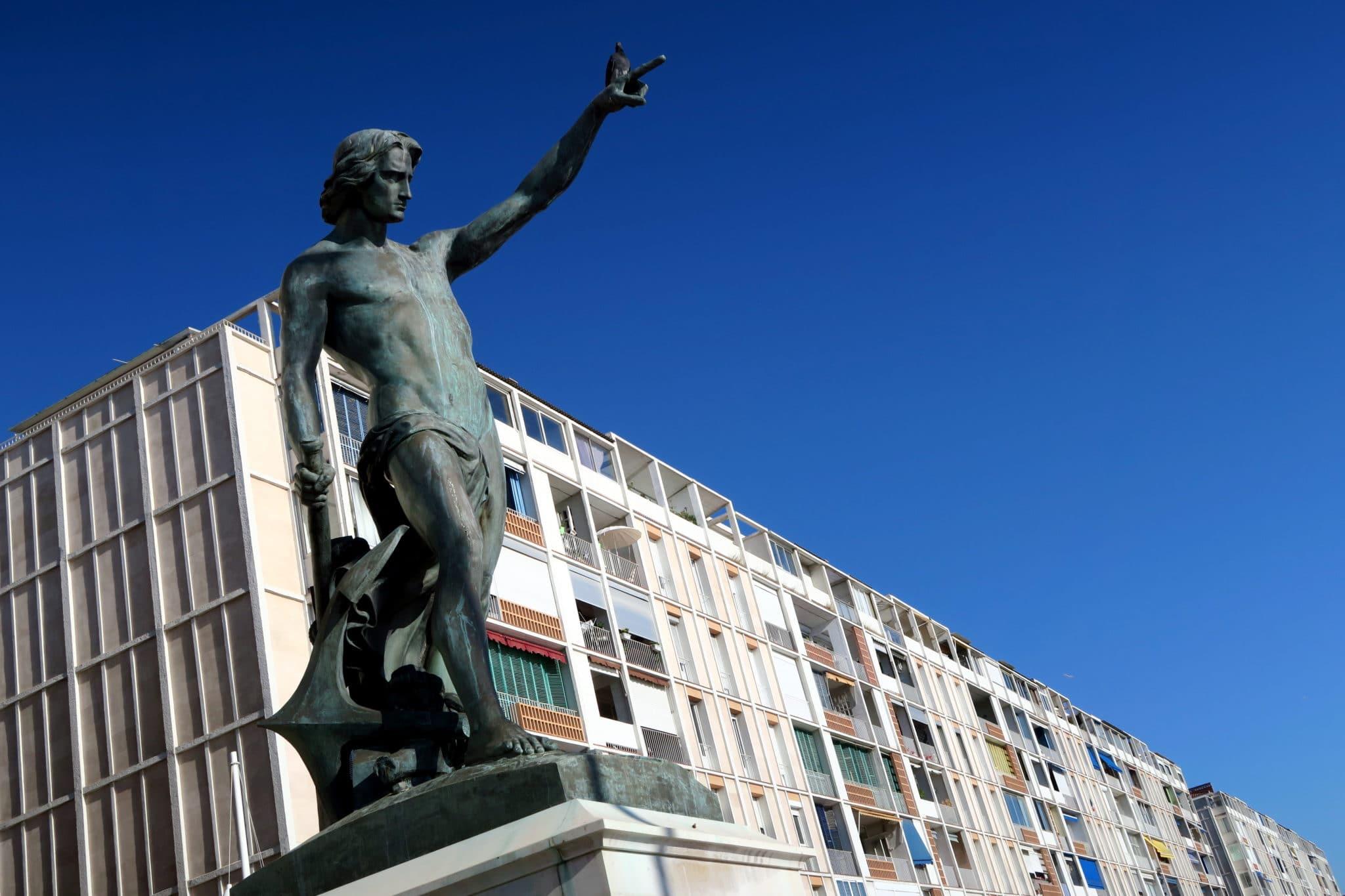 Toulon Main Port France
