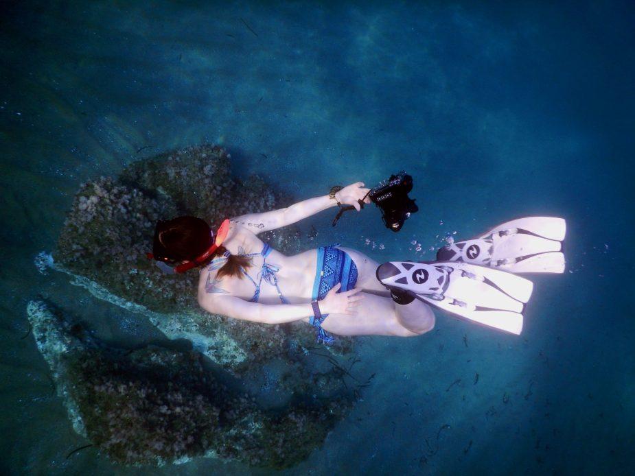 snorkelling Alonissos Greece
