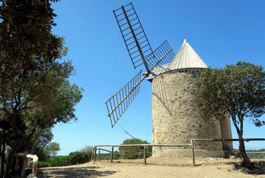 Windmill Porquerolles Island French Riviera