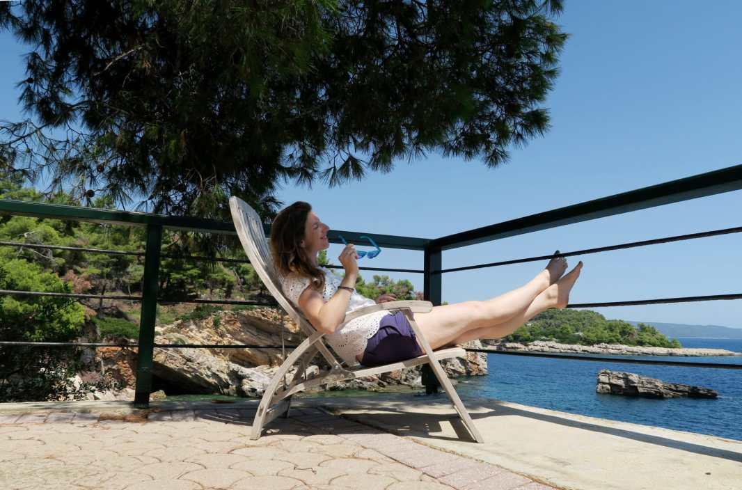 Relaxing holiday Alonissos Greece Paradise Hotel
