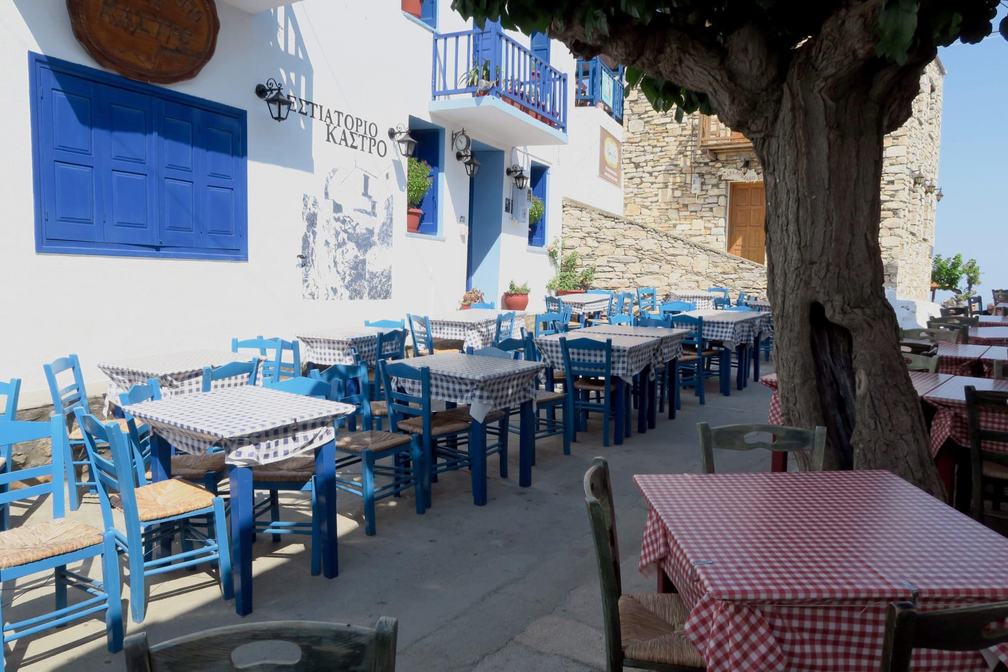 Chora Old Town Alonissos Greece