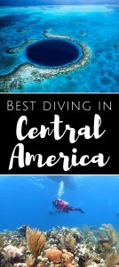 Best diving in Central America
