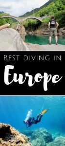 Best diving in Europe