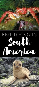 Best diving in South America