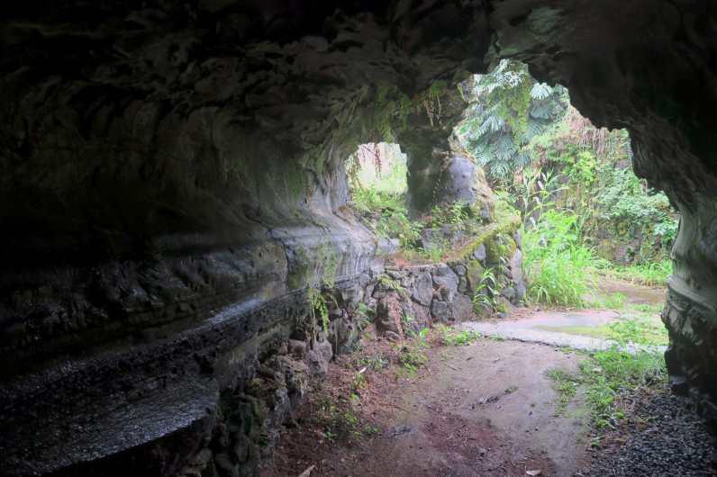 Lava tube Kona Big Island Hawaii