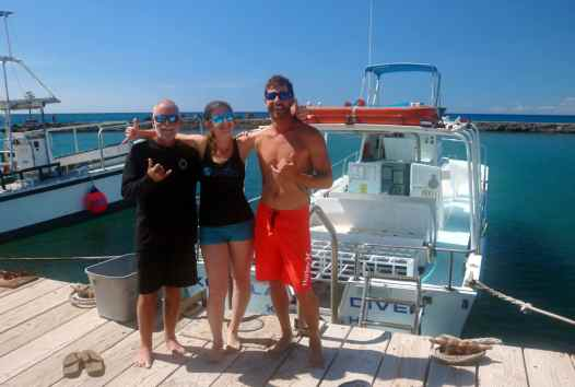 Scuba diving with Kohala Divers Big Island Hawaii USA