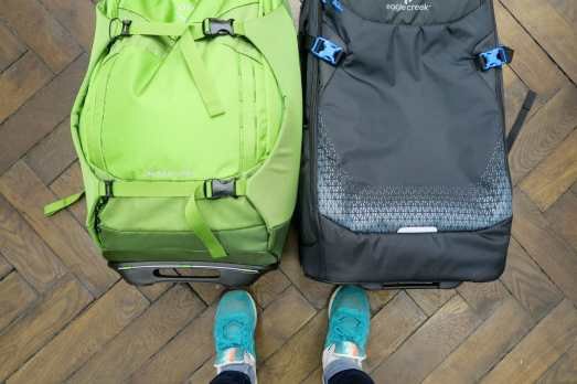 Travel bag for scuba diving at Outdoor sport store
